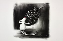A Small Gesture by Doug Hyde -  sized 22x15 inches. Available from Whitewall Galleries
